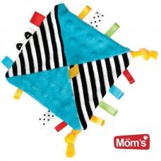 Mom's care Comforter Baby blanket, Blue